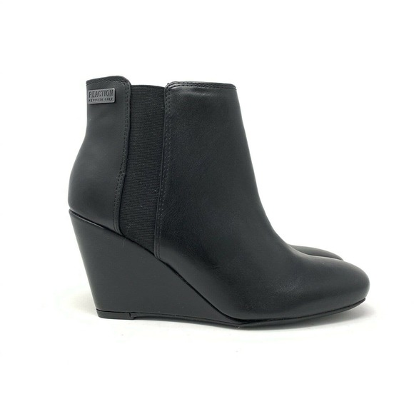 Kenneth Cole Reaction Ankle Boots Black 8.5M